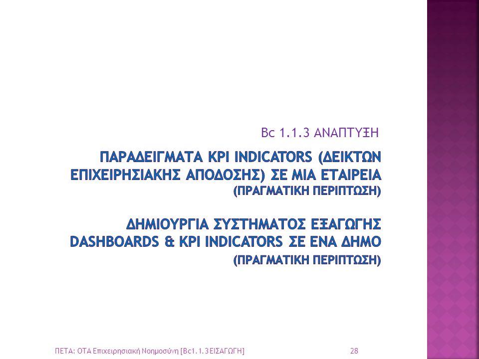 Bc 1.1.3 ΑΝΑΠΤΥΞΗ