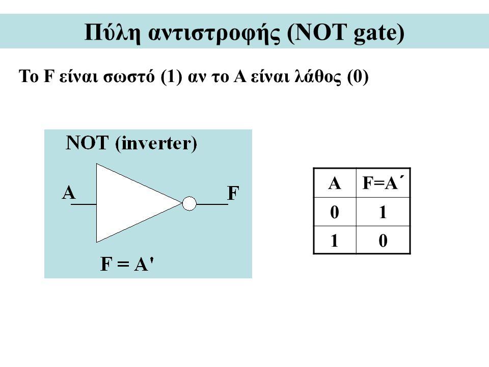 Πύλη αντιστροφής (NOT gate)