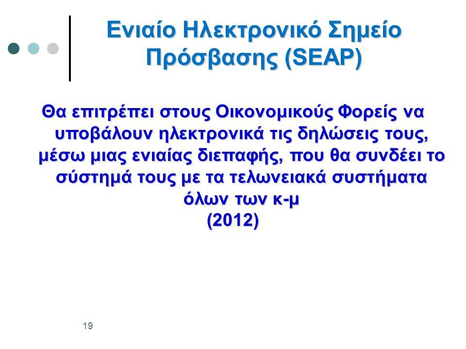 Ενιαίο Ηλεκτρονικό Σημείο Πρόσβασης (SEAP)