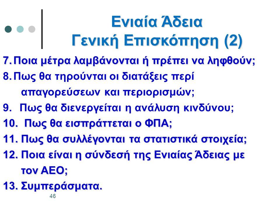 Ενιαία Άδεια Γενική Επισκόπηση (2)