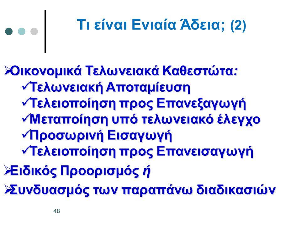 Τι είναι Ενιαία Άδεια; (2)