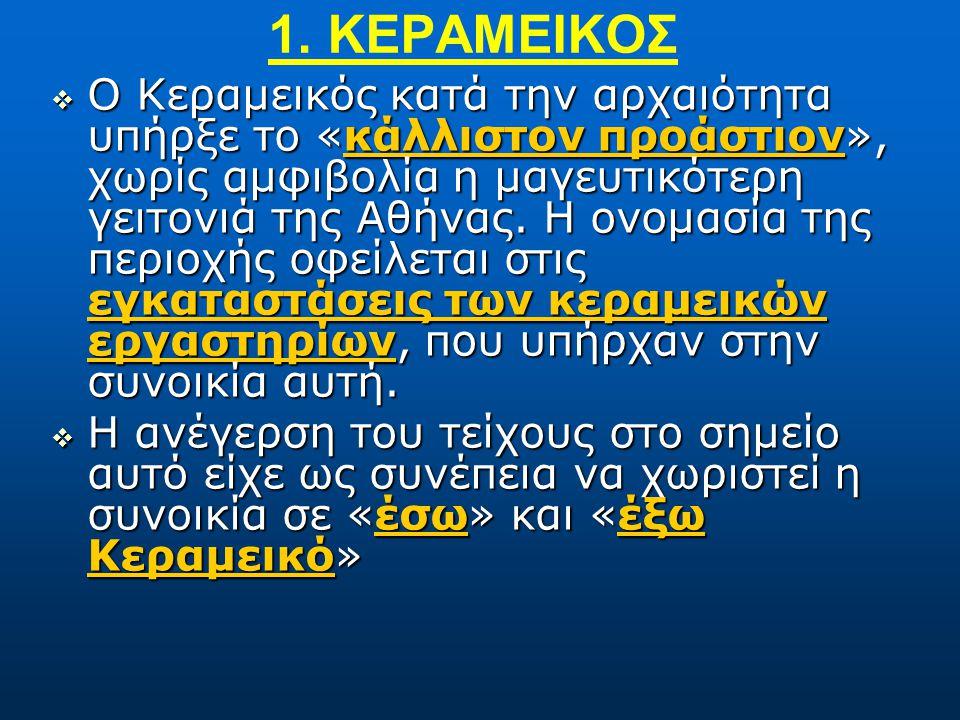 1. ΚΕΡΑΜΕΙΚΟΣ