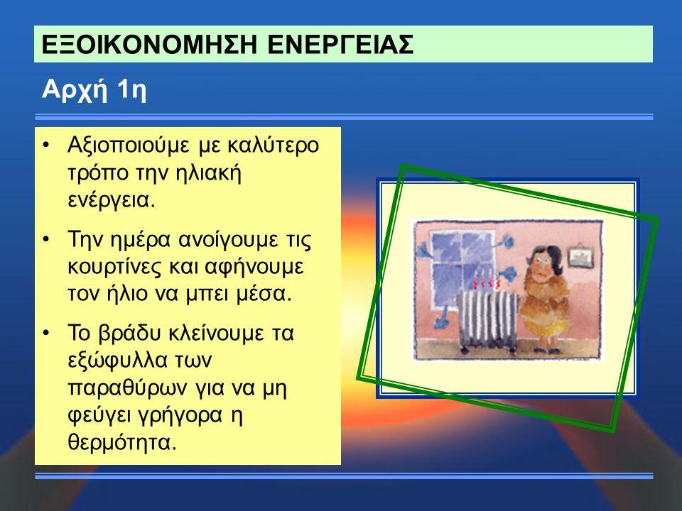 ΕΞΟΙΚΟΝΟΜΗΣΗ ΕΝΕΡΓΕΙΑΣ