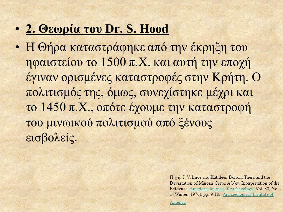 2. Θεωρία του Dr. S. Hood