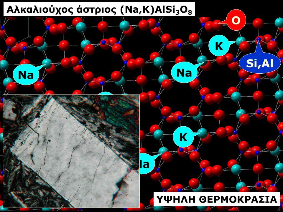 Αλκαλιούχος άστριος (Na,K)AlSi3O8