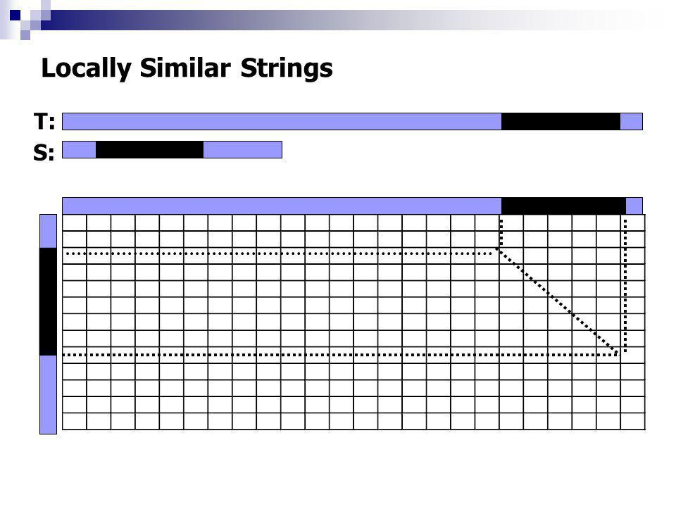 Locally Similar Strings