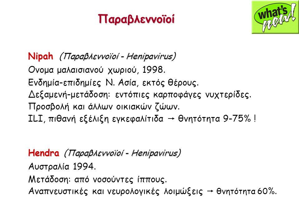 Παραβλεννοϊοί Nipah (Παραβλεννοϊοί - Henipavirus)