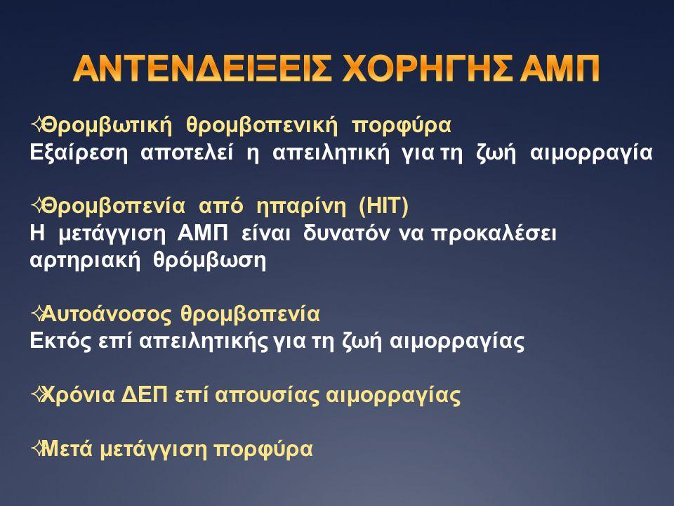 ΑΝΤΕΝΔΕΙΞΕΙΣ ΧΟΡΗΓΗΣ ΑΜΠ