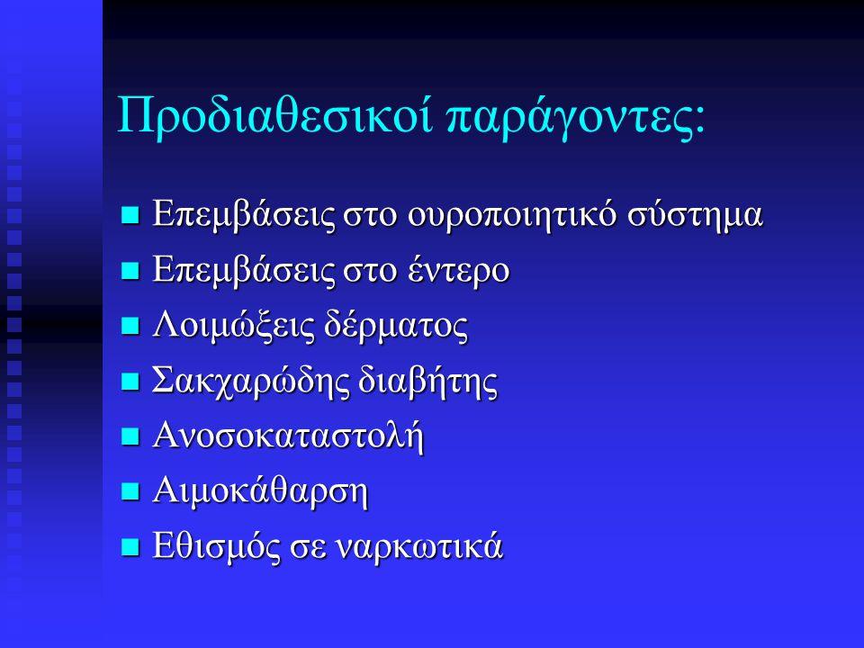 Προδιαθεσικοί παράγοντες: