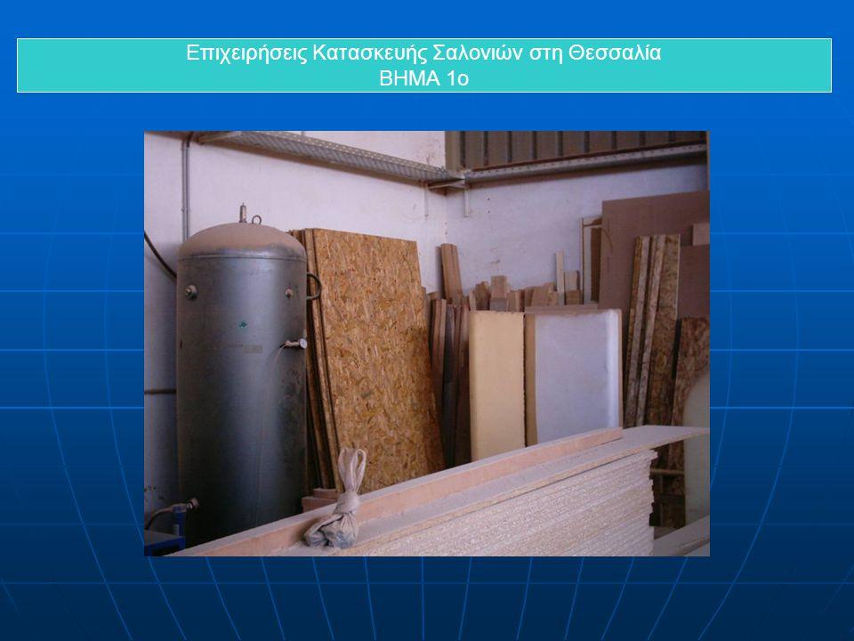 Επιχειρήσεις Κατασκευής Σαλονιών στη Θεσσαλία