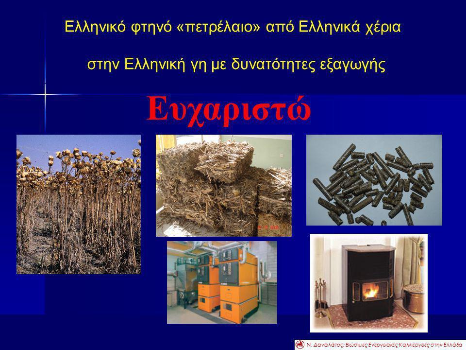 Ευχαριστώ Ελληνικό φτηνό «πετρέλαιο» από Ελληνικά χέρια