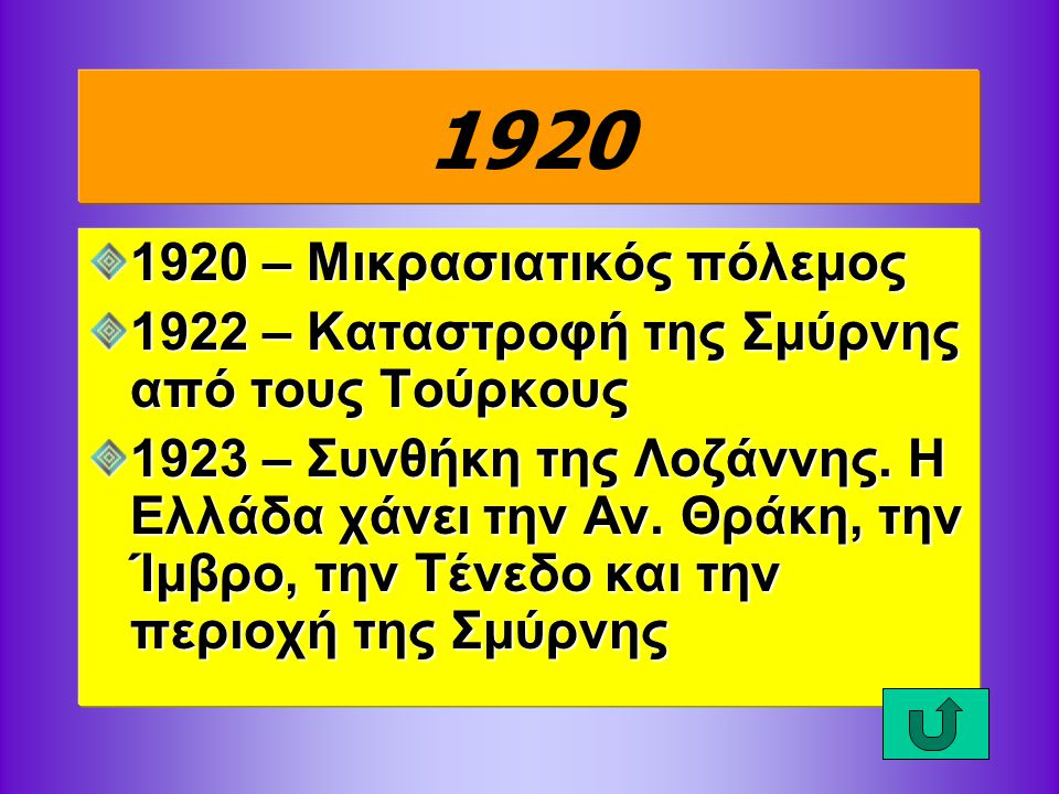 1920 1920 – Μικρασιατικός πόλεμος