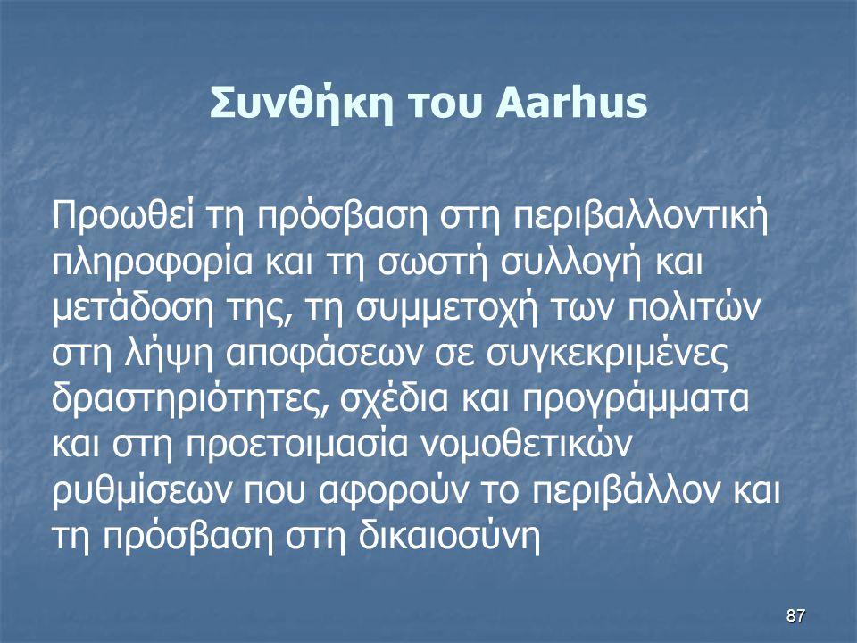 Συνθήκη του Aarhus