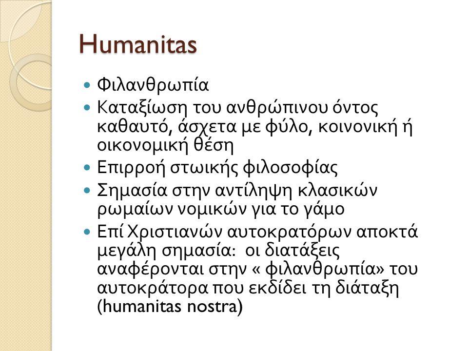 Humanitas Φιλανθρωπία