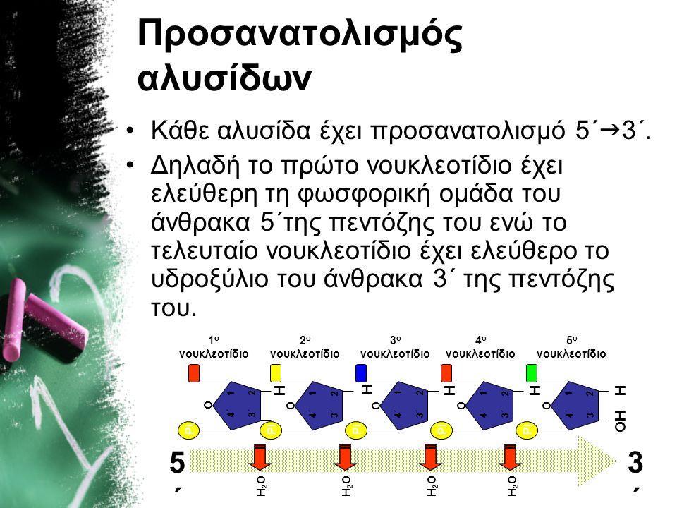 Προσανατολισμός αλυσίδων
