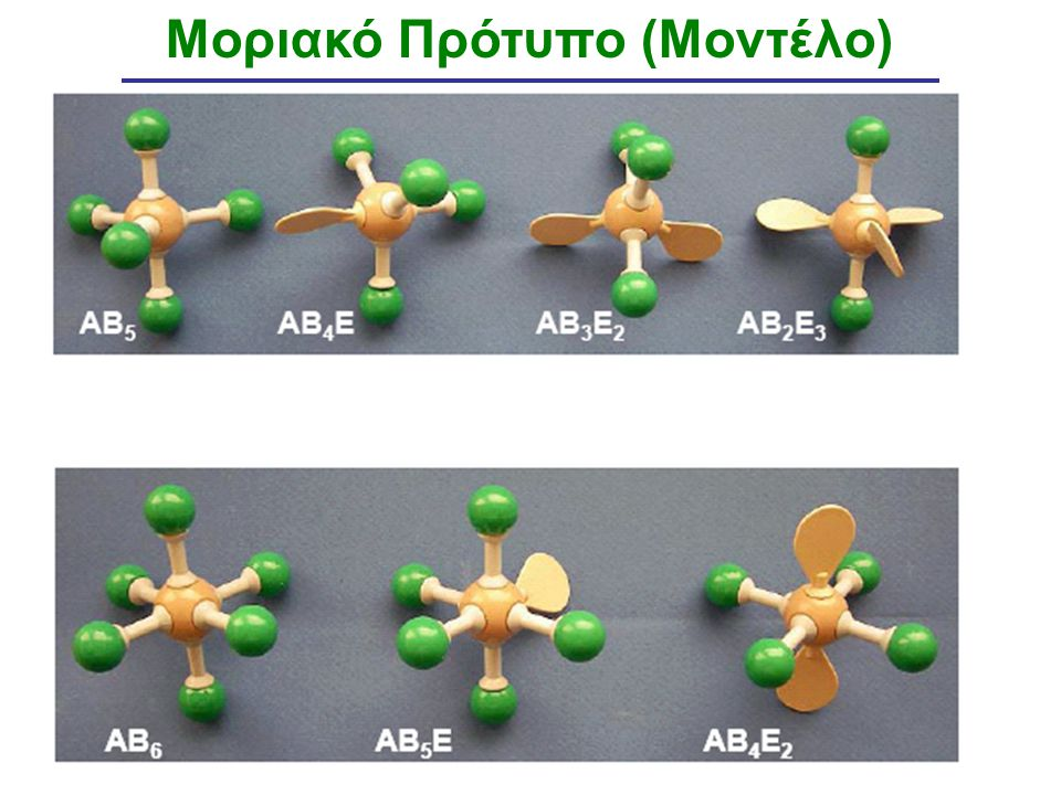 Μοριακό Πρότυπο (Μοντέλο)