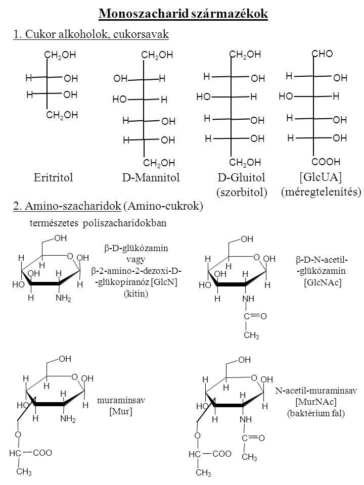 Monoszacharid származékok