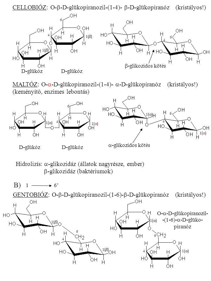 O-a-D-glükopiranozil- -(1-6)-a-D-glüko- piranóz