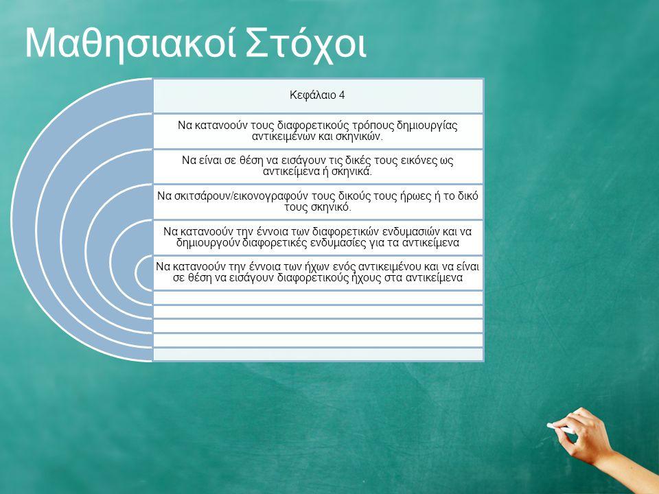 Μαθησιακοί Στόχοι Κεφάλαιο 4