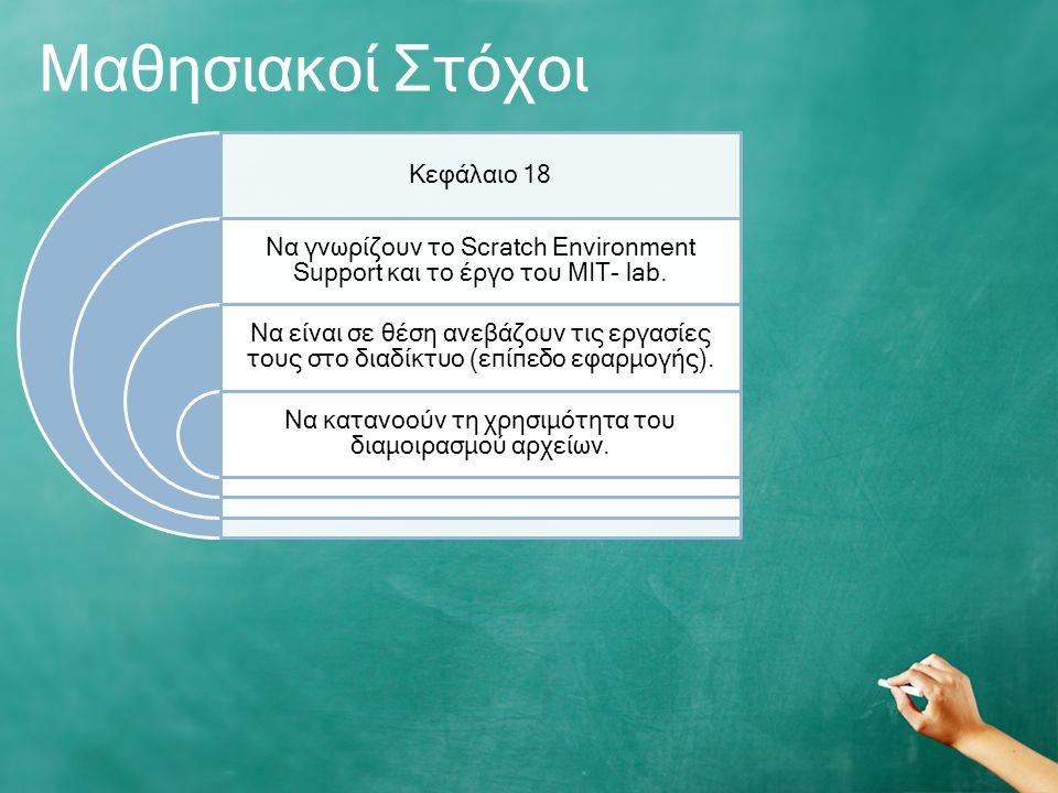 Μαθησιακοί Στόχοι Κεφάλαιο 18