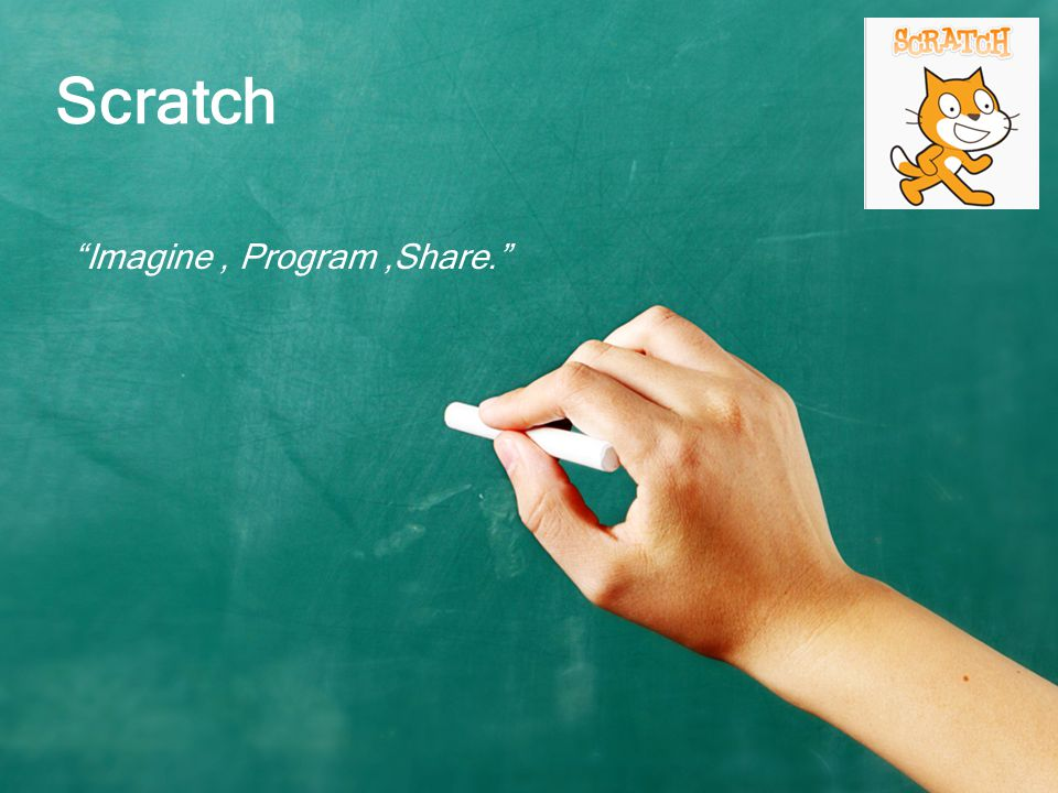 Imagine , Program ,Share.