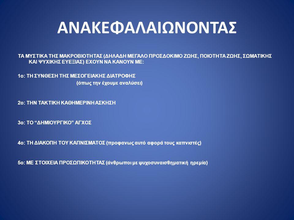 ΑΝΑΚΕΦΑΛΑΙΩΝΟΝΤΑΣ