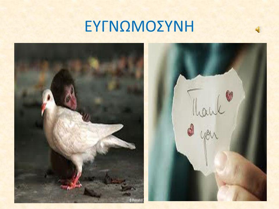 ΕΥΓΝΩΜΟΣΥΝΗ