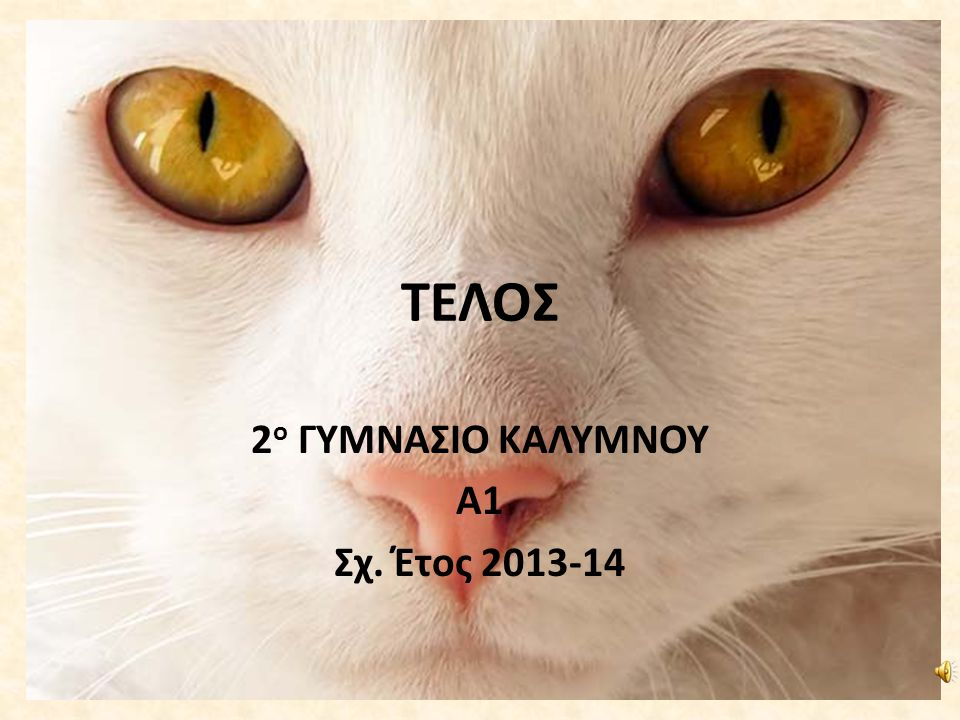 2ο ΓΥΜΝΑΣΙΟ ΚΑΛΥΜΝΟΥ Α1 Σχ. Έτος 2013-14