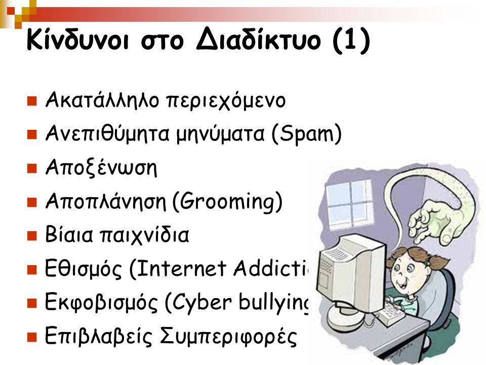 Κίνδυνοι στο Διαδίκτυο (1)