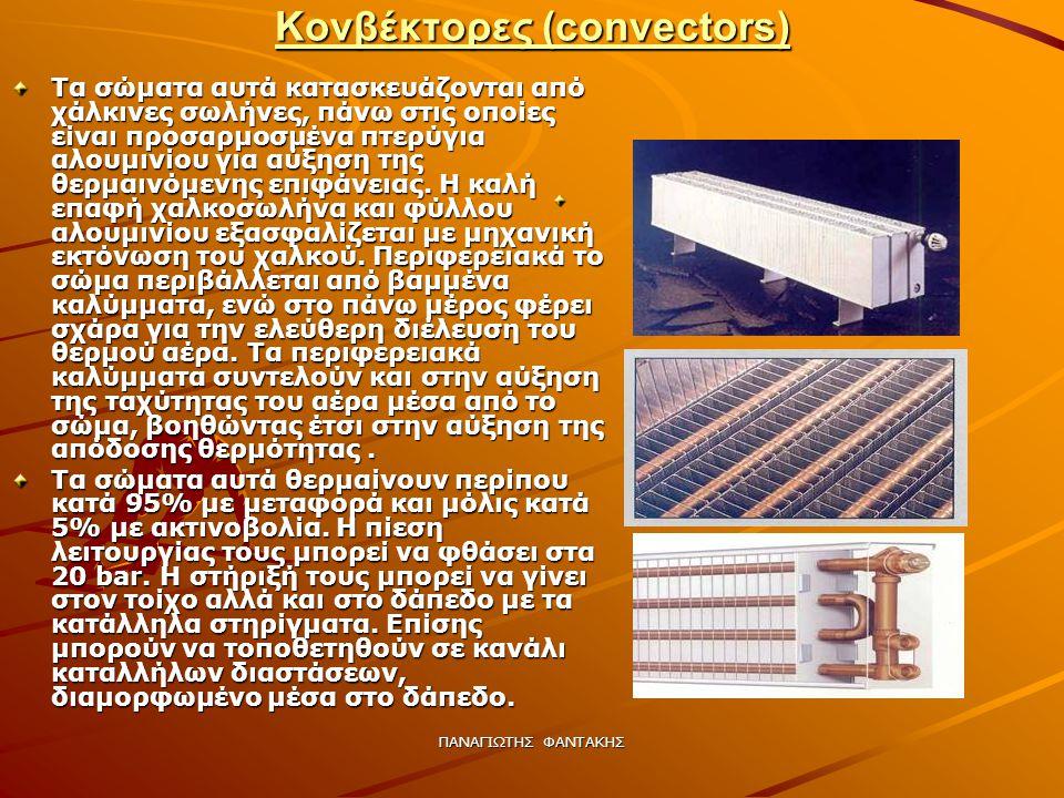 Κονβέκτορες (convectors)
