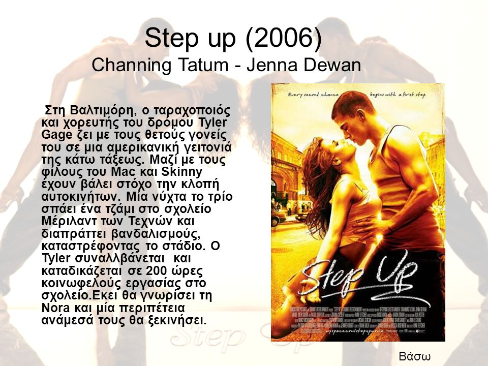 Step up (2006) Channing Tatum - Jenna Dewan