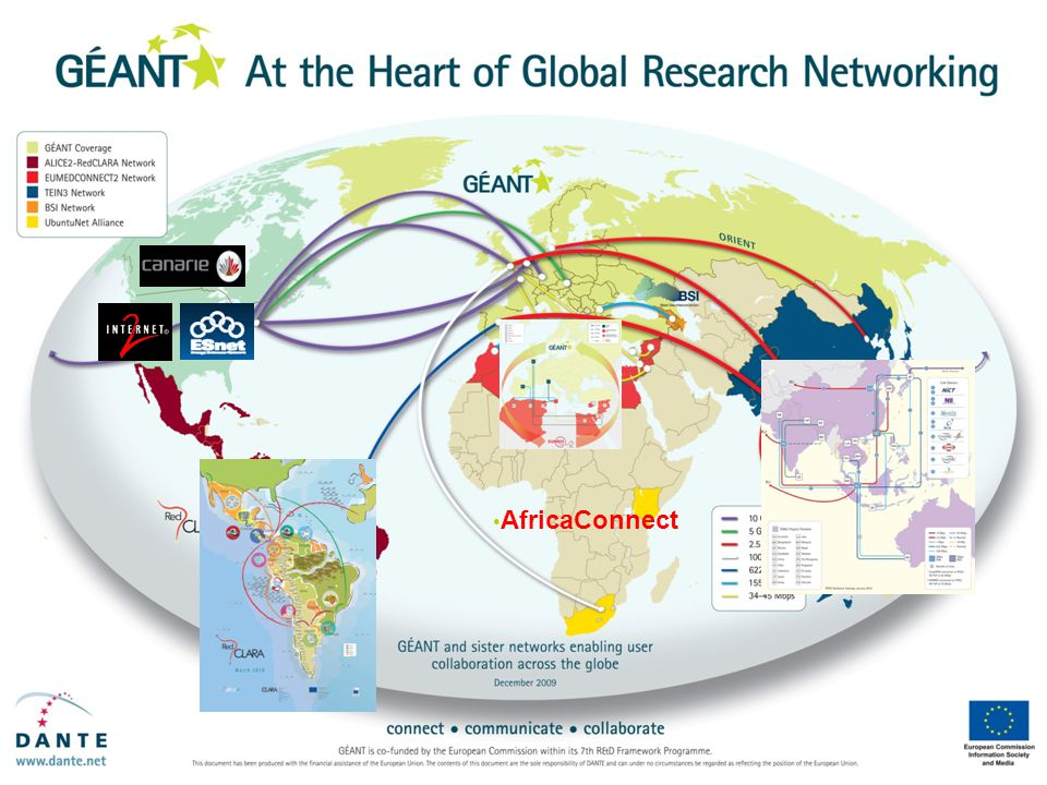 GÉANT global connectivity