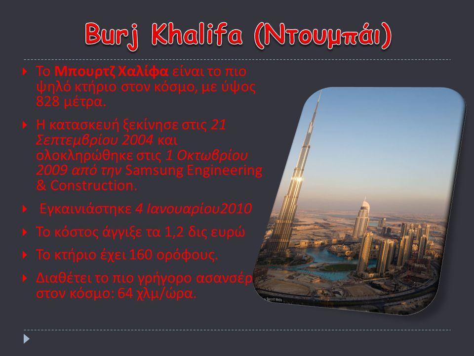 Burj Khalifa (Ντουμπάι)