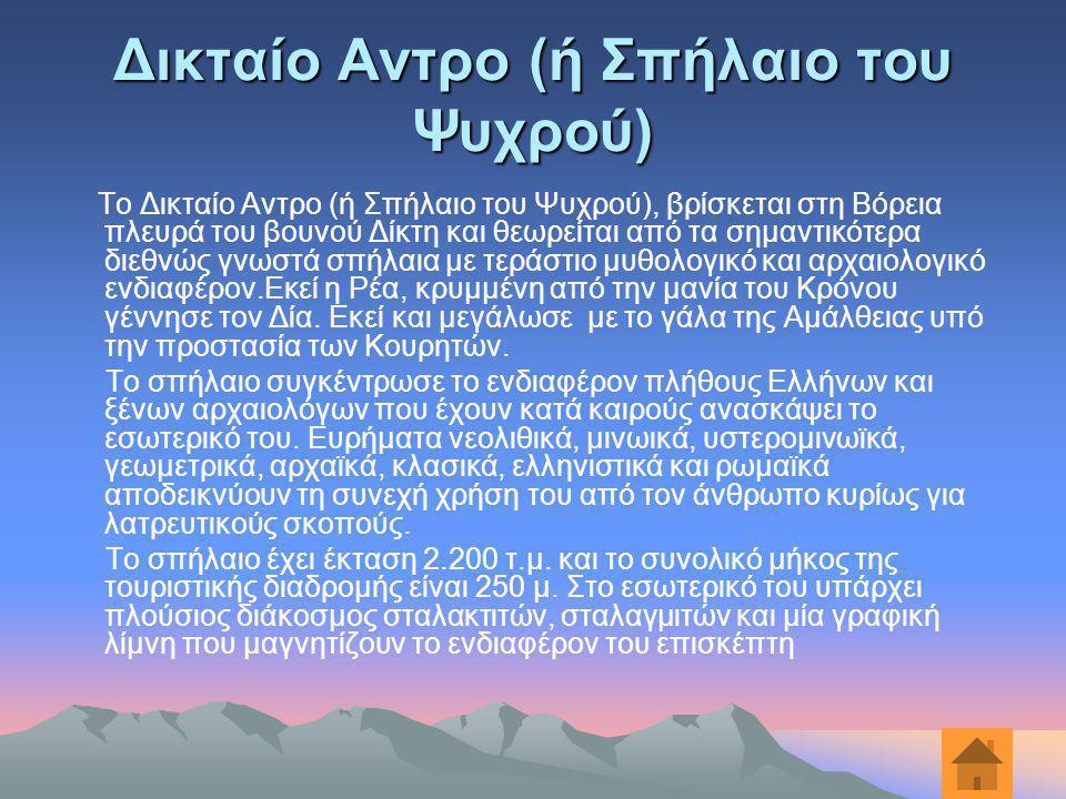 Δικταίο Αντρο (ή Σπήλαιο του Ψυχρού)