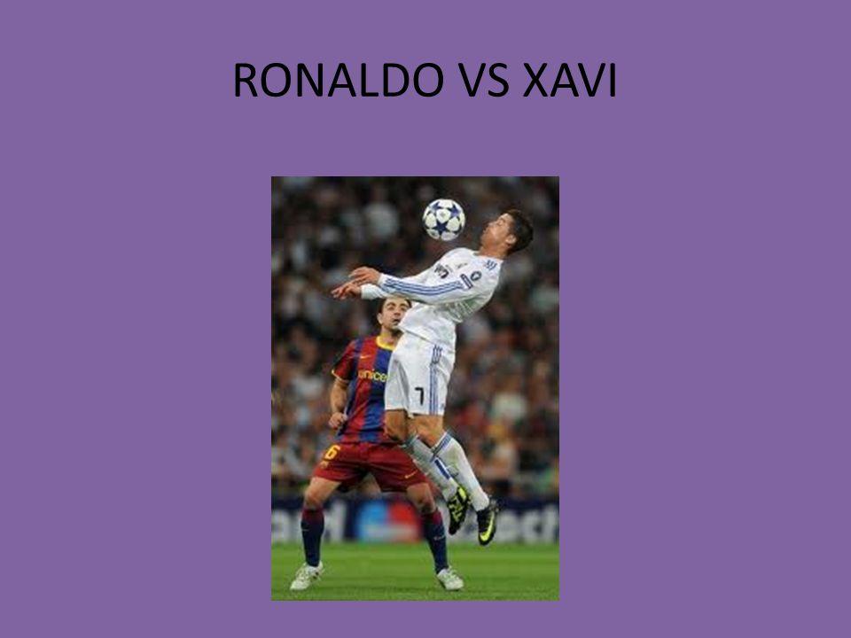 RONALDO VS XAVI