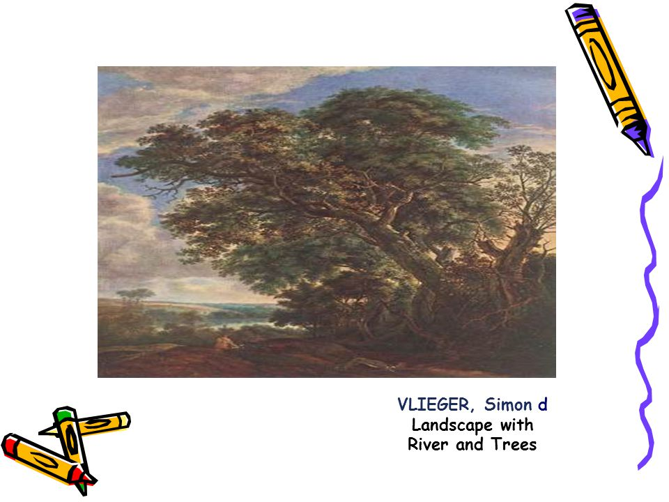 VLIEGER, Simon d Landscape with River and Trees