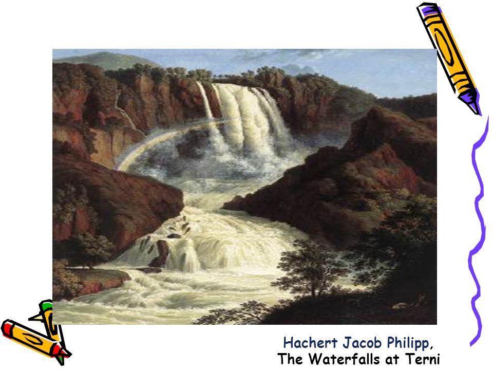 Hachert Jacob Philipp, The Waterfalls at Terni