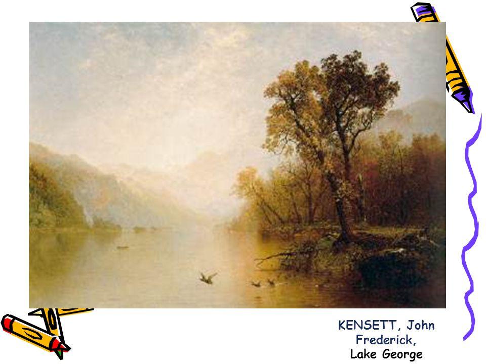 KENSETT, John Frederick, Lake George