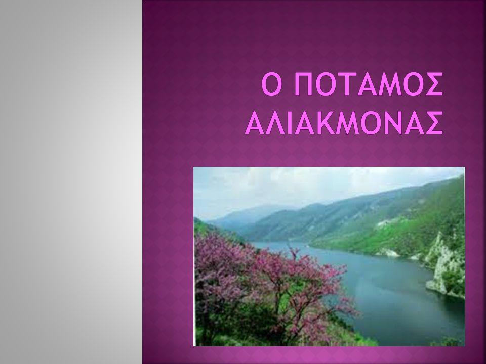 Ο ποταμος ΑΛΙΑΚΜΟΝΑΣ