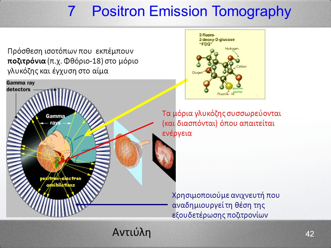 7 Positron Emission Tomography