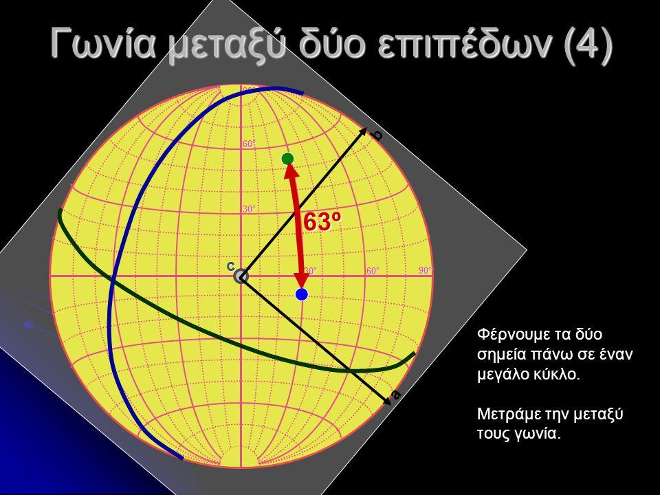 Γωνία μεταξύ δύο επιπέδων (4)