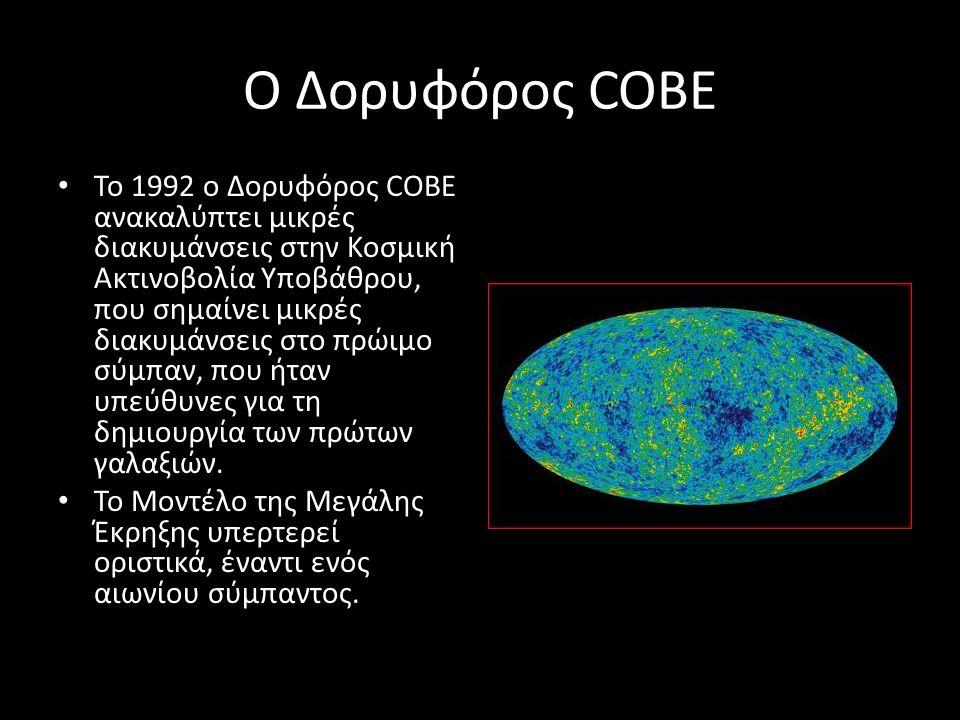 Ο Δορυφόρος COBE