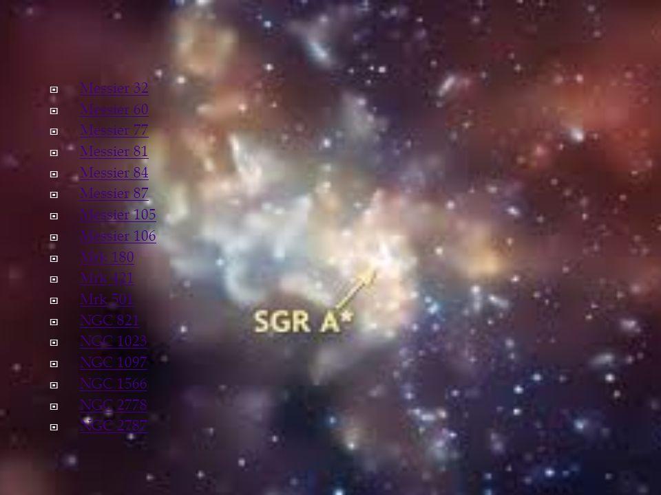 Messier 32 Messier 60. Messier 77. Messier 81. Messier 84. Messier 87. Messier 105. Messier 106.
