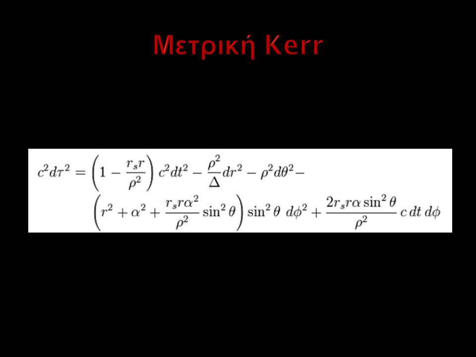 Μετρική Kerr