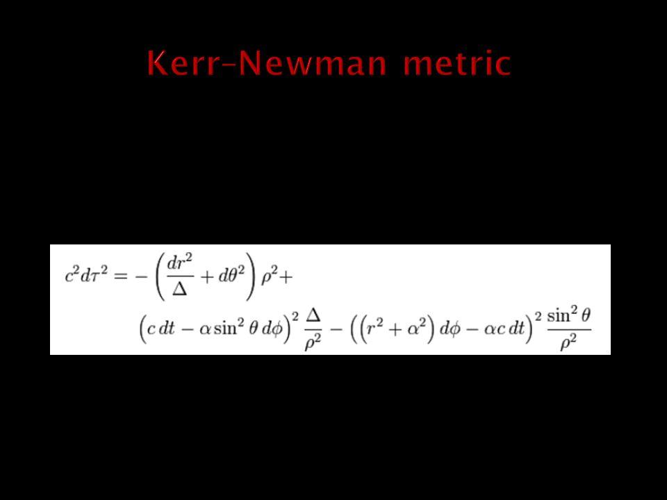 Kerr–Newman metric