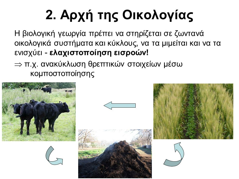 2. Αρχή της Οικολογίας