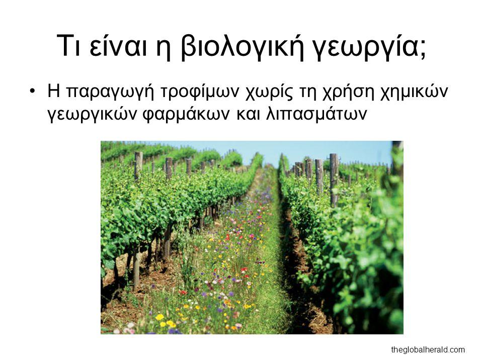 Τι είναι η βιολογική γεωργία;