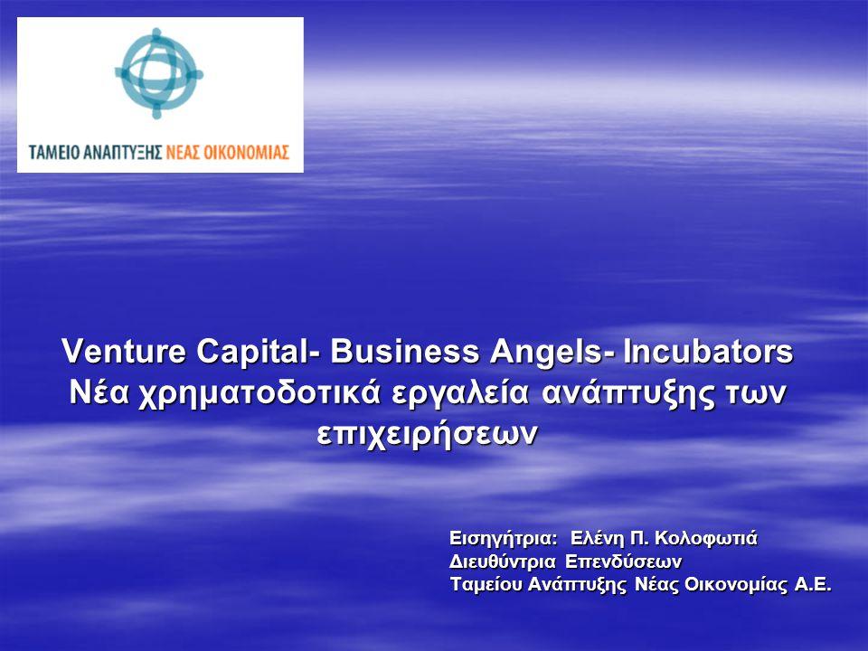 Τι είναι η venture capital χρηματοδότηση;