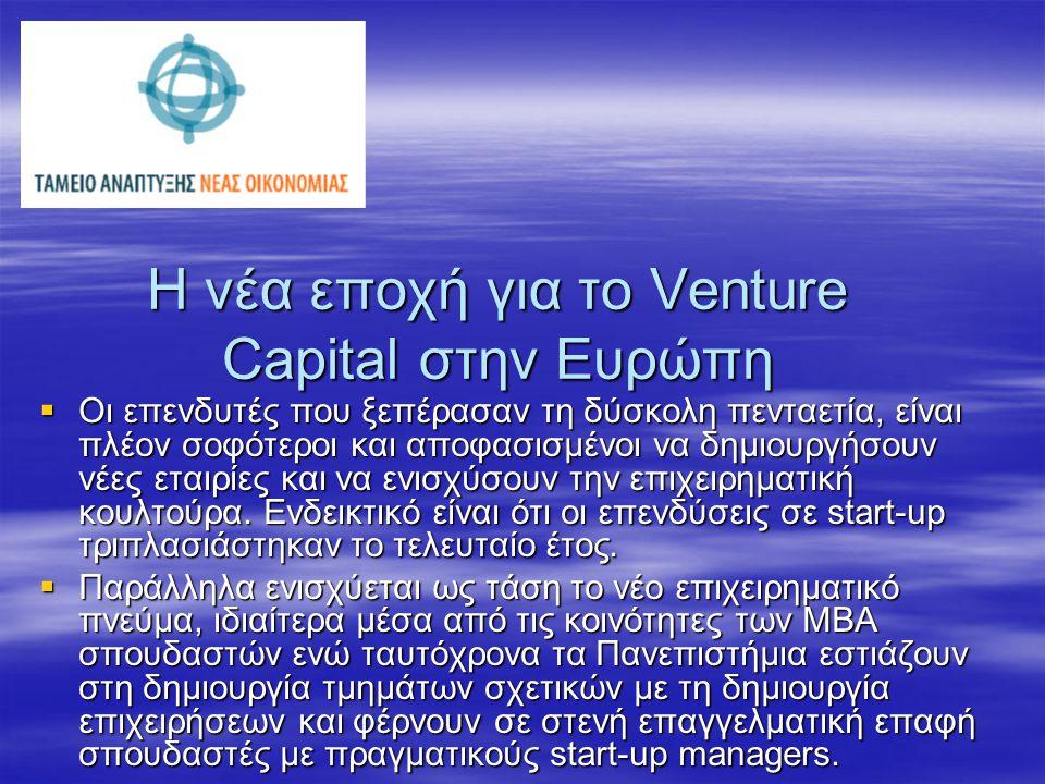 Το Venture Capital στην Ελλάδα (2005)