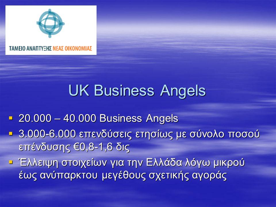 Business Angels Network